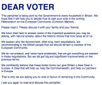 Click on the image to go to the Text of the Referendum