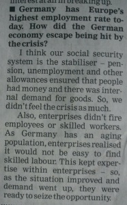 Social Security Germany
