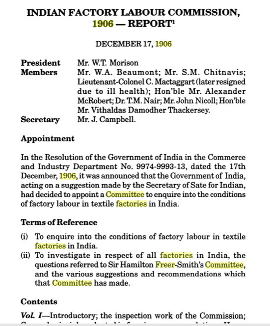 T M Nair report page